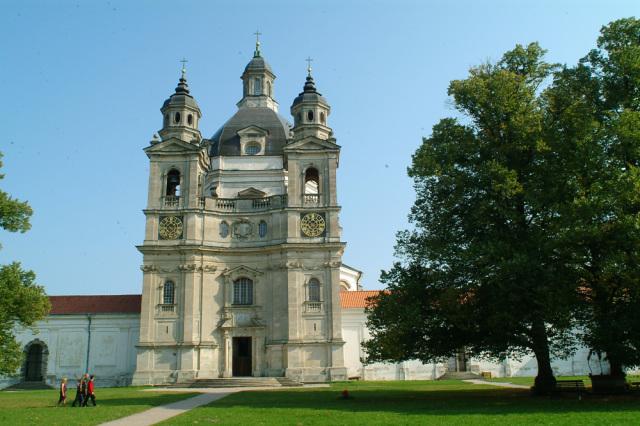 Монастырь в Пажайслисе в Каунасе