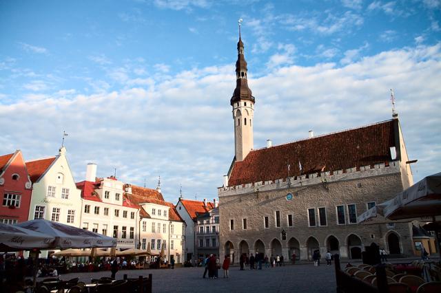 Ратушная Площадь в Старом Таллине