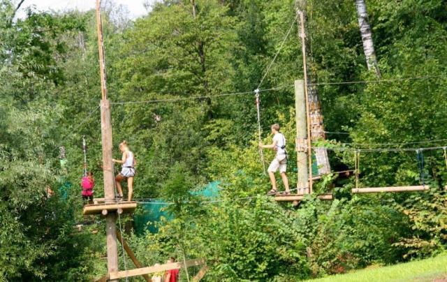 Парк отдыха Тарзан в Сигулде