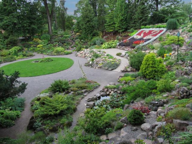 Ботанический сад в Тарту
