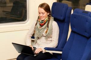 Бесплатный интернет в поезде Санкт-Петербург - Таллин