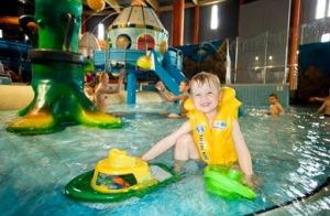 Отдых для детей в аквапарке в Друскининкае