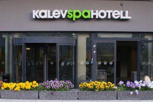 Kalev Spa Отель & Водный центр в Таллине