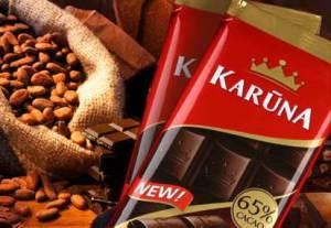 Шоколад Karūna из Вильнюса