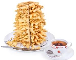 Шакотис - национальный торт Литвы