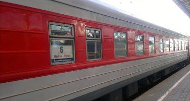 Поезд Москва-Вильнюс