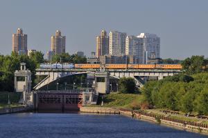 Маршрут поезда Москва-Рига