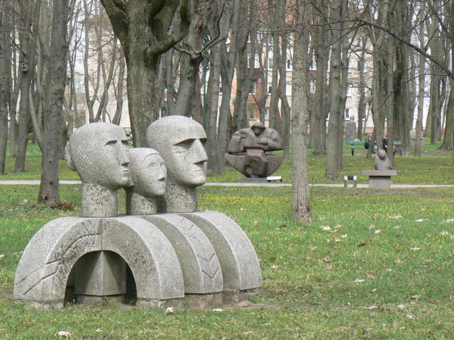Парк скульптур в Клайпеде