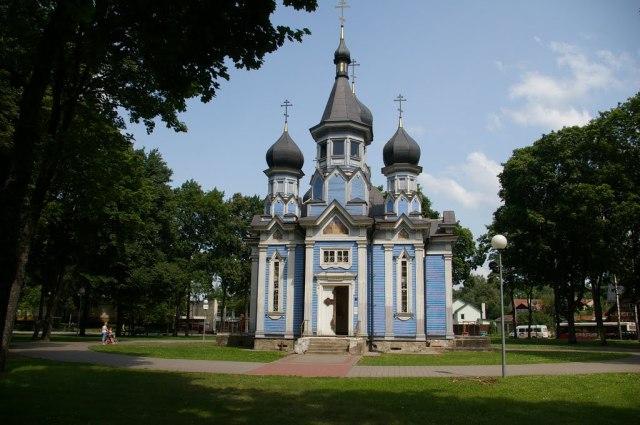 Православная церковь иконы Божией Матери в Друскининкае