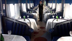 В вагоне-ресторане
