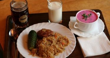 Латышская национальная кухня