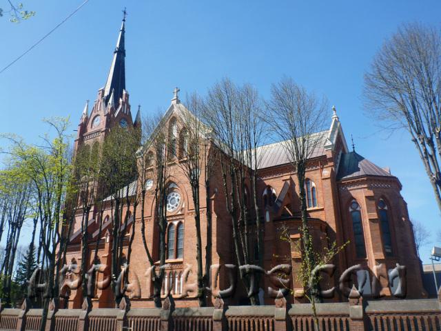 Костел Девы Марии в Паланге
