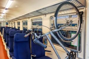 Провоз велосипеда в поезде Москва-Таллин