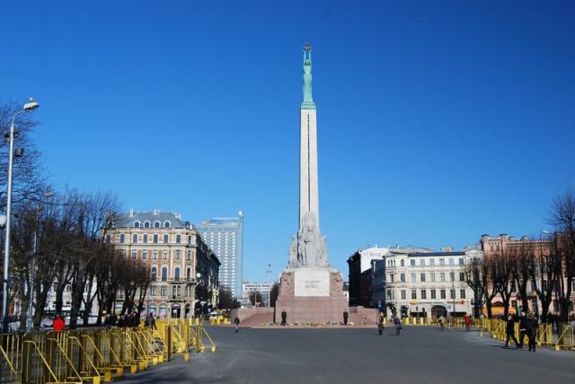 Памятник Свободы в Риге