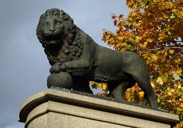 Шведский лев в Нарве