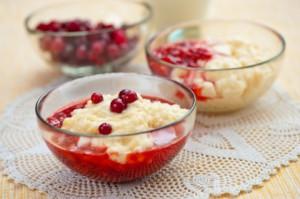 Десерт национальной латышской кухни