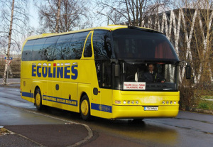 Автобус Санкт-Петербург-Рига компании Ecolines