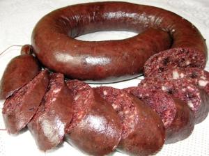 Эстонская кровяная колбаса