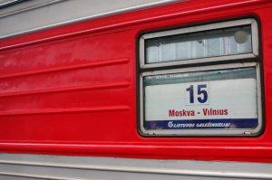 Поездка из Москвы в Вильнюс