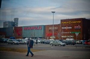 Торговый центр Акрополис с Клайпеде