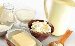 Молочные продукты в Литве