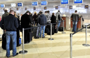Регистрация на рейс в аэропорту Риги