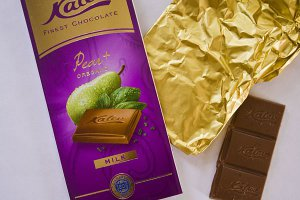 Шоколад Калев из Таллина