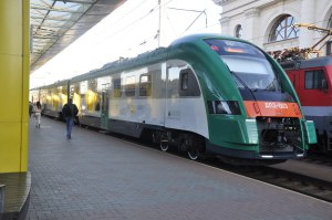 Поезд Минск-Вильнюс №805