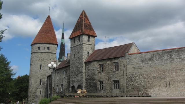 Городская стена Старого Таллина