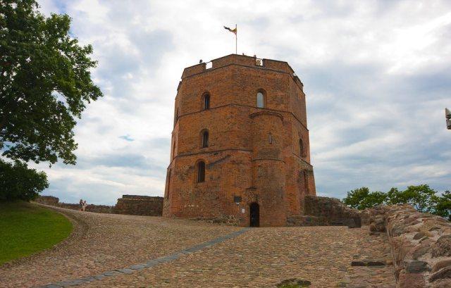 Башня Гедиминаса в Вильнюсе