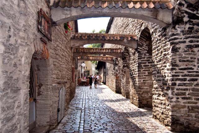 Переулок Катарины в Старом Таллине