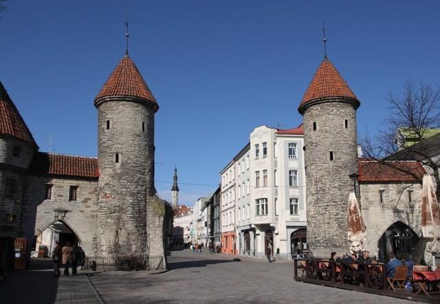Вируские Ворота в Старом Таллине