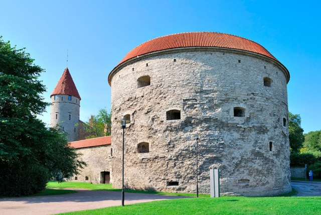 Башня Толстая Маргарита в Старом Таллине