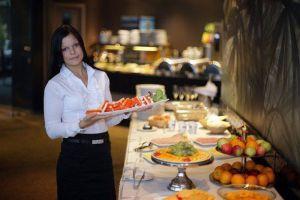Ресторан в аквапарке Ливу