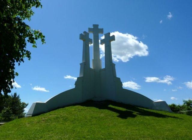 Холм Трех Крестов в Вильнюсе