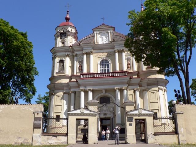 Костел Святых апостолов Петра и Павла в Вильнюсе