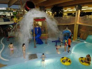 Аттракционы в аквапарке Ливу