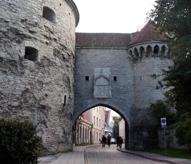 Большие Морские Ворота в Старом Таллине