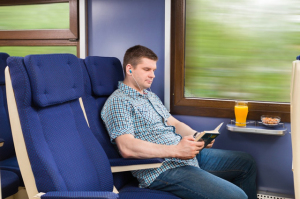 Комфорт в поезде Санкт-Петербург - Таллин