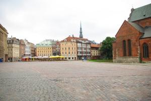 Домская площадь Риги
