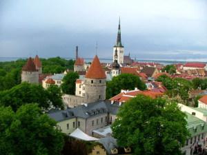 Старый Таллин в Эстонии