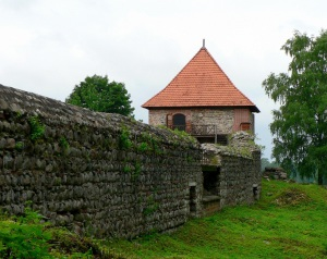 Полуостровной замок в Тракае