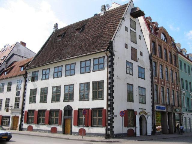 Дом Менцендорфа в Риге