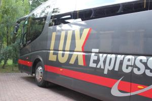Автобус Lux Express из Москвы в Ригу