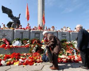 Праздник ветеранов в Латвии