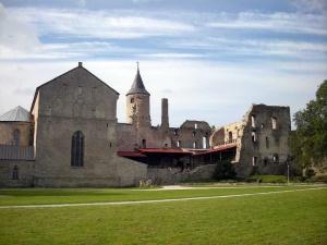 Епископский замок в Хаапсалу в Эстонии