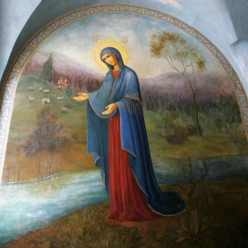 Явление Пресвятой Богородицы на Пюхтицкой горе