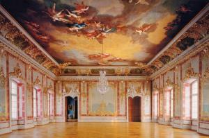 Внутренний интерьер Рундальского дворца