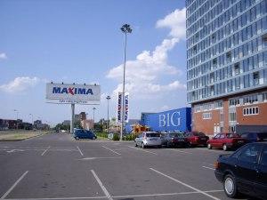 Торговый центр Биг в Клайпеде