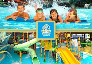 Детская зона в аквапарке Виши